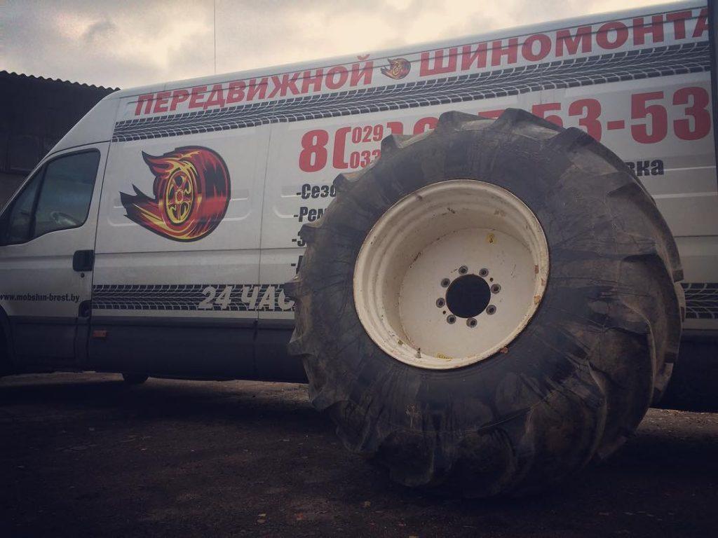 грузовой шиномонтаж в минске